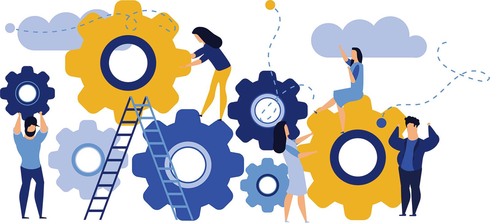 クライアントに寄り添った業務プロセス改革支援